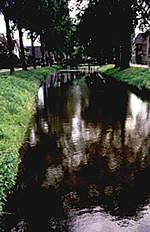 Gracht in Lochem, anno 1999.