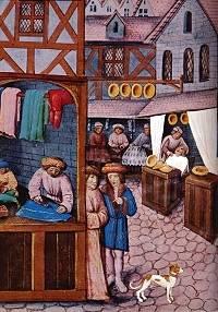 Winkels in de 15de eeuw.