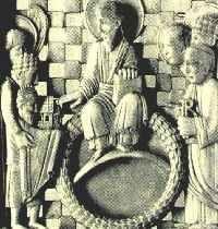 Otto I in 10de eeuws ivoor vastgelegd.