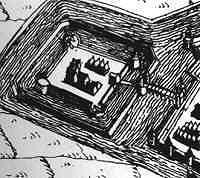 Kasteel Bredevoort in 1597.