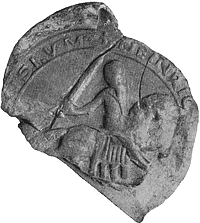 Zegel van Hendrik III 'de Jongere', klik voor een grotere afbeelding (51kb, 300dpi).