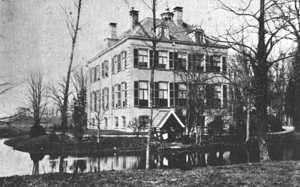 Huis Verwolde in de 19de eeuw.