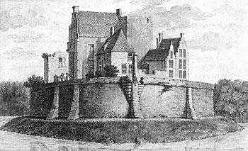 Kasteel Bronckhorst, anno 1731.