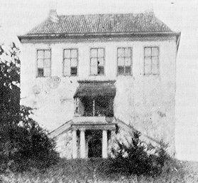 Huis Bronkhorst, anno 1901.
