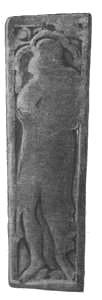 Grafsteen van graaf Otto I in St. Walburgiskerk te Zutphen.