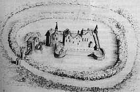 Wildenborg in de 17de eeuw.
