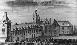 Huis Wisch, anno 18de eeuw.
