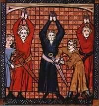 Omgorden in de 14de eeuw.