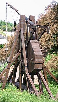 Trebuchet (Replica in Chinon, Frankrijk).
