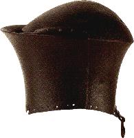 Toernooihelm uit de 15de eeuw.