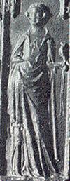Klik hier voor grotere afbeelding van het zegel van Eleonora (71 KB, 300 dpi).