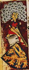 Wapen van de hertogen van Gelre uit wapenboek heraut Gelre.