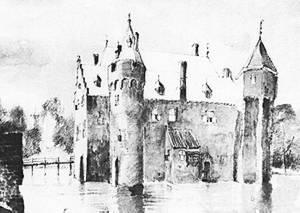 Impressie van Baer in 1404.