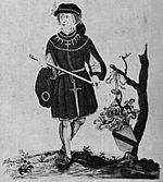 Onbekende heer van Baer (18de eeuwse afbeelding).