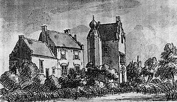 Lathum, anno 1742 (tekening van J. de Beijer).