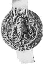 Wapen van Reinald III. Klik voor een grotere afbeelding (300 dpi, 47KB).