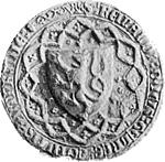Zegel van Reinald III, klik voor een grotere afbeelding (300 dpi, 37KB).