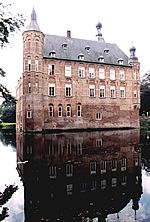 Zaalvleugel kasteel Keppel, anno 2000.