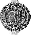 Zegel van Eduard. Klik voor een grote afbeelding (300 dpi, 33KB).