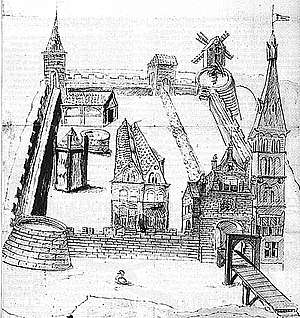 Kasteel Schuilenburg, anno 1548.