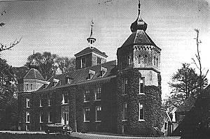 Kasteel Schuilenburg in de eerste helft van de twintigste eeuw.