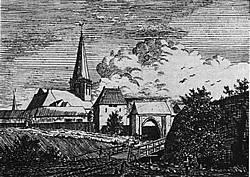 Heezenpoort, anno 1800.