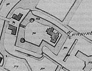 Plattegrond Swanenburg in 1830.