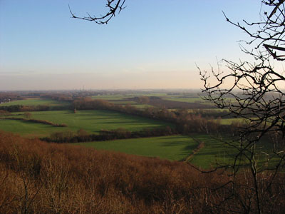 Uitzicht vanaf Elten (foto auteur, 2003)