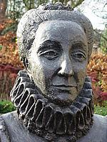 Maria van Nassau, beeld bij huis Ulft.