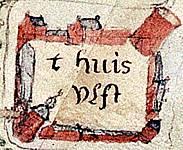 Kasteel Ulft in de 17de eeuw.