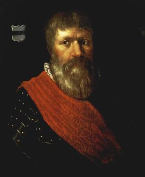 Portret van Berend van Hackfort.